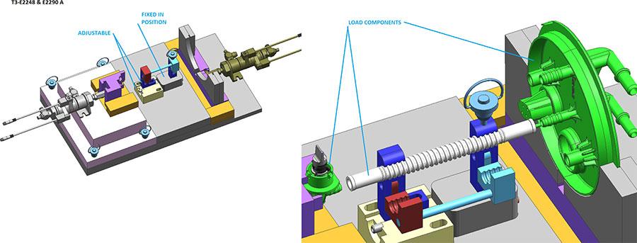 Part engineering drawings